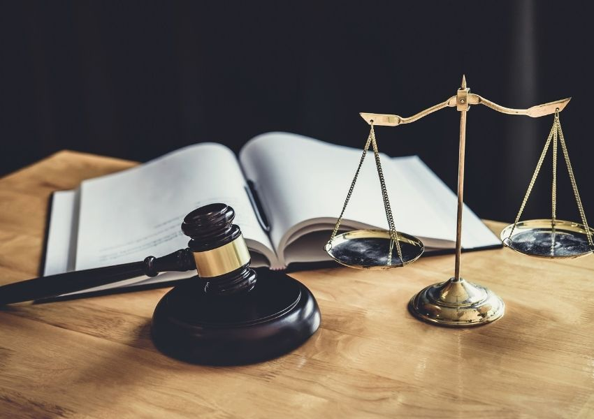 Scales of Justice and Gavel of Sex Crimes Lawyer