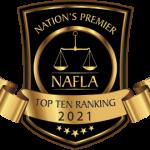 Sevierville Attorney TJ Norton - Top 10 Ranking 2021